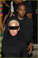 Amber Rose  and Kenye West
