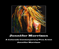 Jennifer Morrisons Abstratc Horses