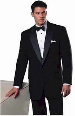 Men Formal Tuxedo Classy Hairstyle
