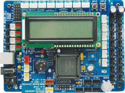 The AX-11 microcontroller board