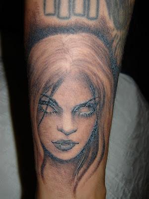 Best New 3D Face Tattoo