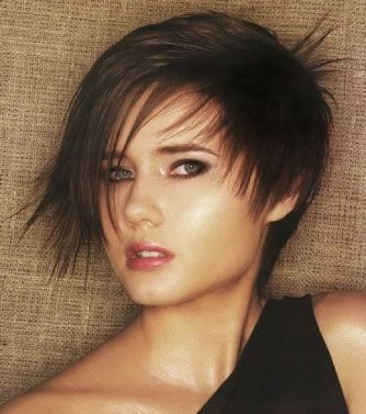 short hair cuts for women. short hairstyles for fat