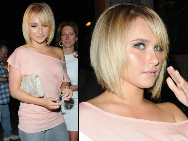Or try it with no bangs at all. Short hairstyles for women was not very vast