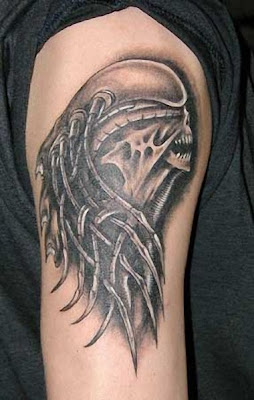 Alien Tattoo Pictures