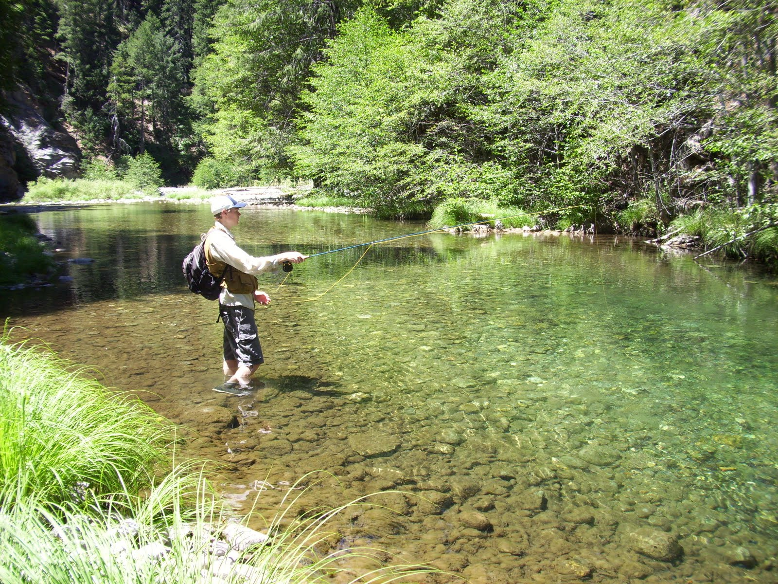 Northern sierra fly fishing the dog days of summer for Sierra fly fishing