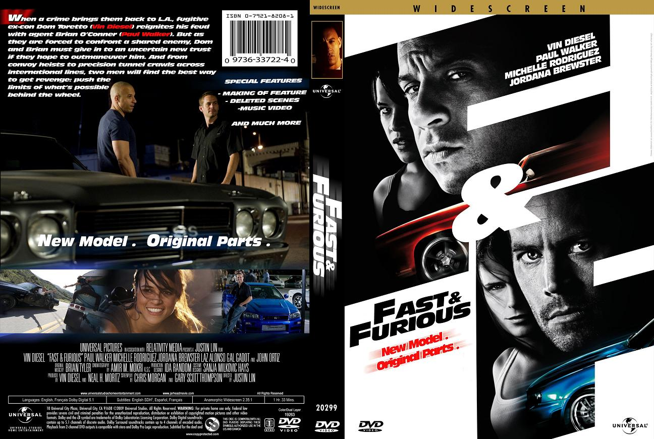 Movies Collection: THE FAST AND THE FURIOUS 'Quadrilogy' (4)