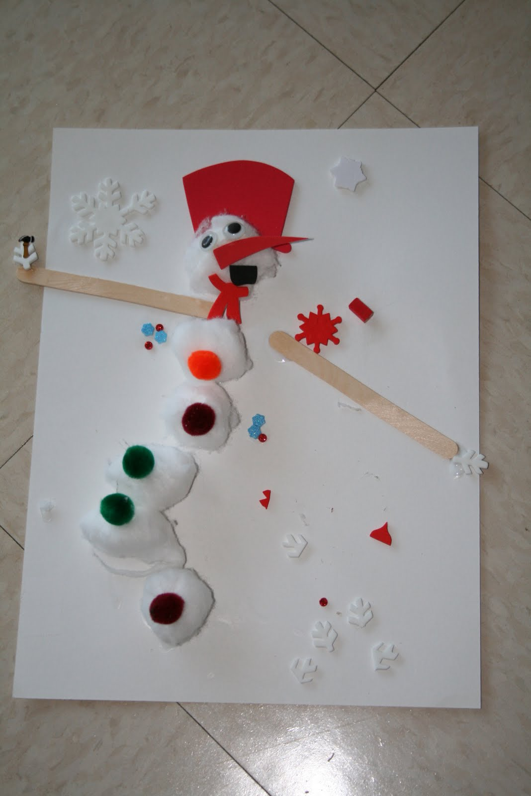 christmas art for preschool educating crumpet preschool week of 12 17 190