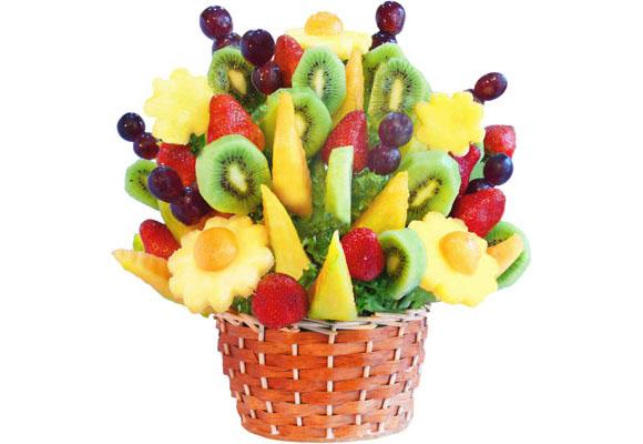 de arreglos frutales han logrado acaparar a una importante cantidad de