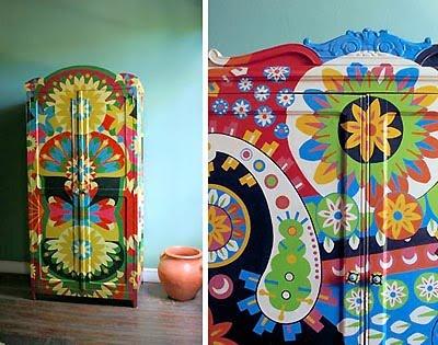 Pintura de muebles decorar tu casa es for Muebles pintados a mano fotos