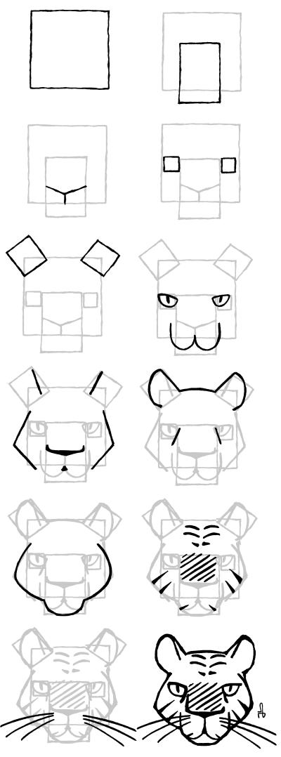 Javabd novembre 2009 - Comment dessiner un tigre ...