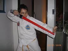 El niño ninja...