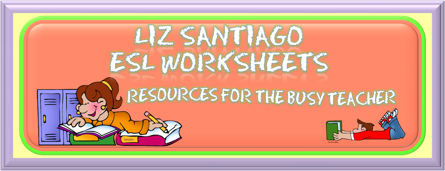 Liz Santiago ESL Worksheets