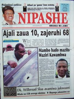 tanzania newspapers udaku