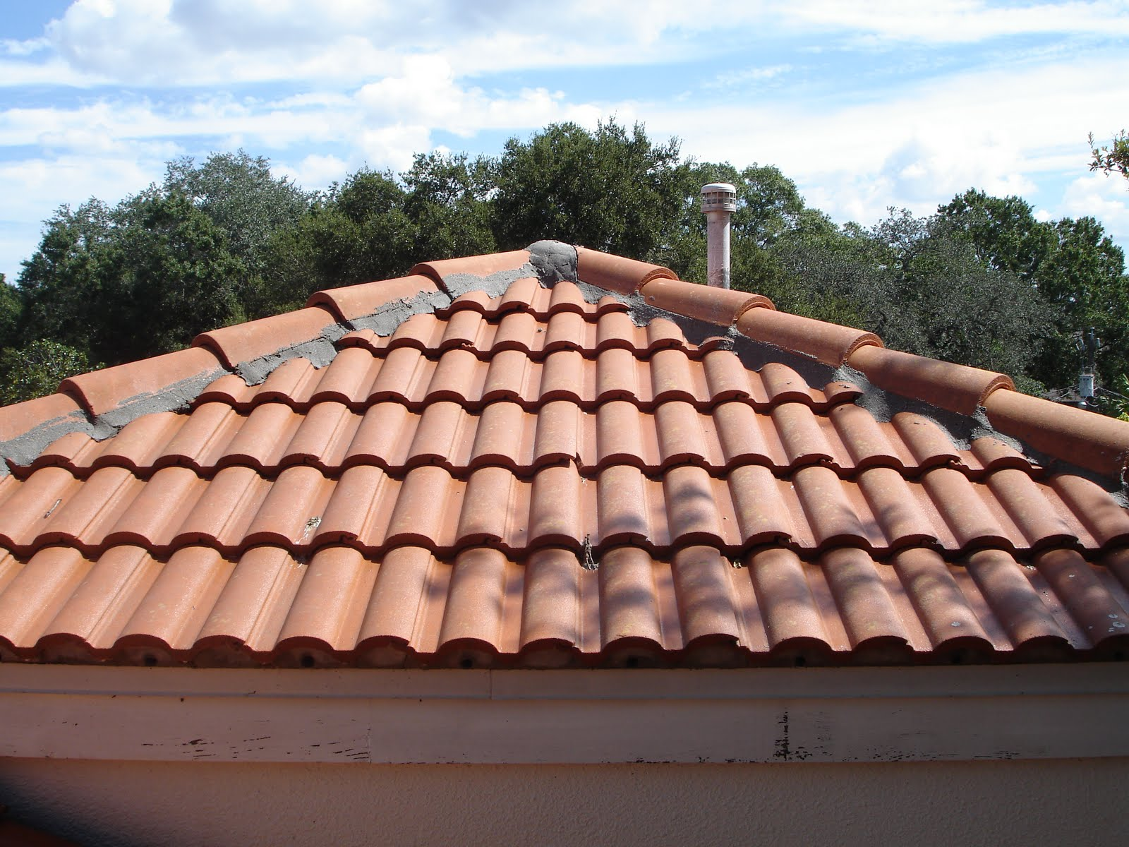 roof tile barrel tile roof