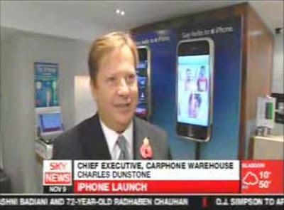 Apple iPhone в Великобритании