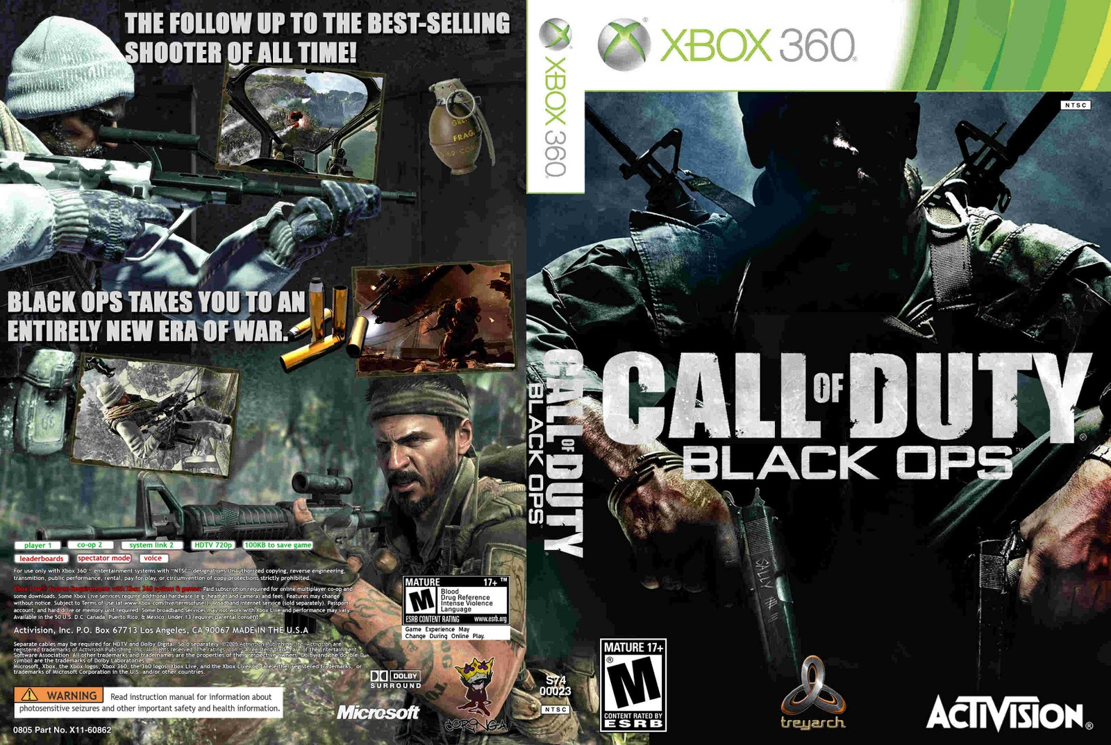 I consider black ops to be the best overall call of duty game