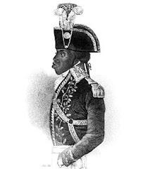 TOUSSAINT LOUVERTURE...PRIMERO DE LOS NEGROS...7 DE ABRIL 1803