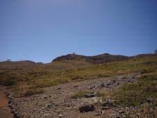secuencia de imágenes de los picos referenciales en las cumbres de la Caldera de Taburiente