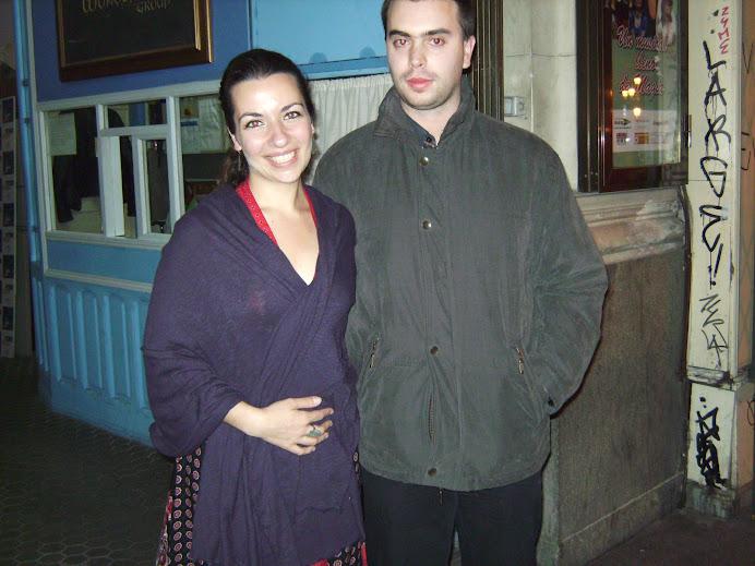 Javi y Ana Isabel Dias de Madredeus y la Banda Cósmica en 2009