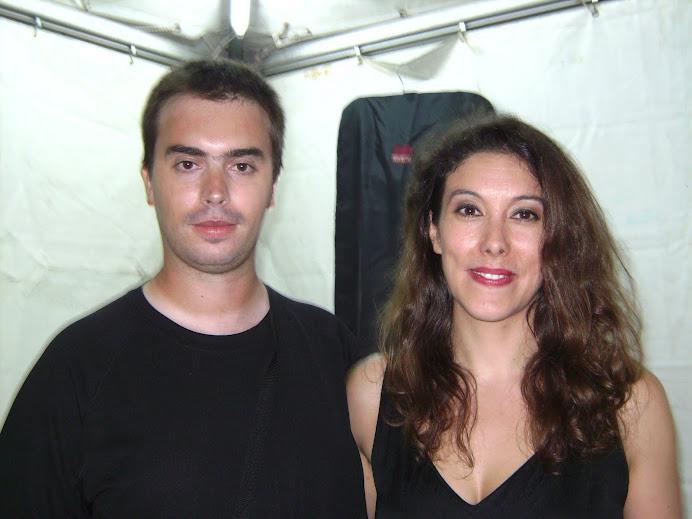 Javi y Marian Abrunheiro 12-09-09 en Mora (Portugal)