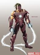 'Iron Man 2', concept art de Whiplash (Michey O'Rourke) (whiplash)