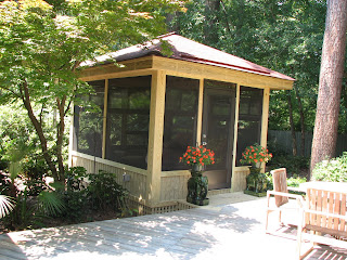 Free Standing Screened Porch
