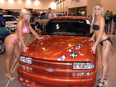 Cars And Girls Pictures. Cars Show Girls