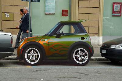 Fast Cars: Cool Smart Car Body