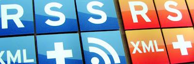 روابط الخلاصات RSS لمدونات بلوجر