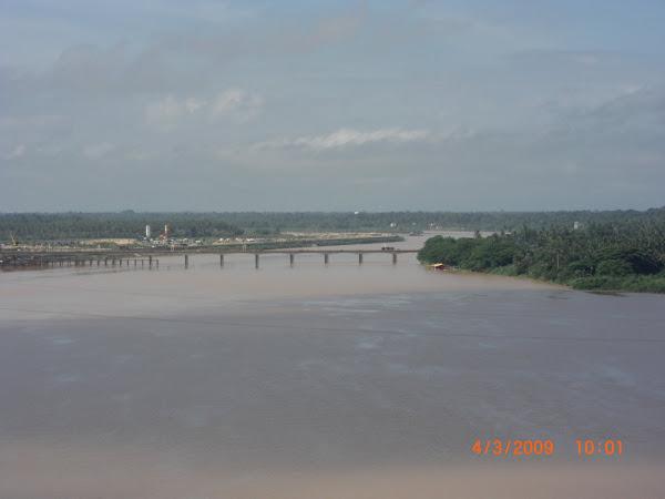 Pemandangan Jambatan Sultan Yahya Dari Tingkat 11
