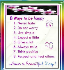 8 way to be happy