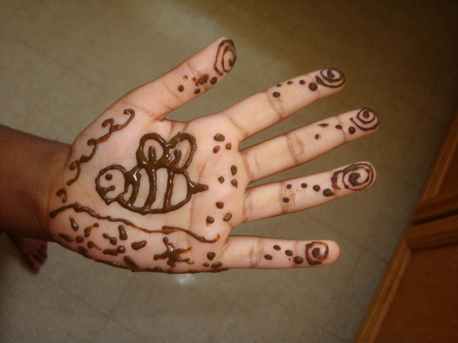 Hobby Hut Simple Mehendi Henna Designs For Kids