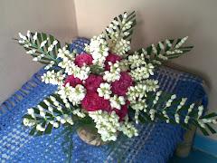 Vas bunga melati (asli)