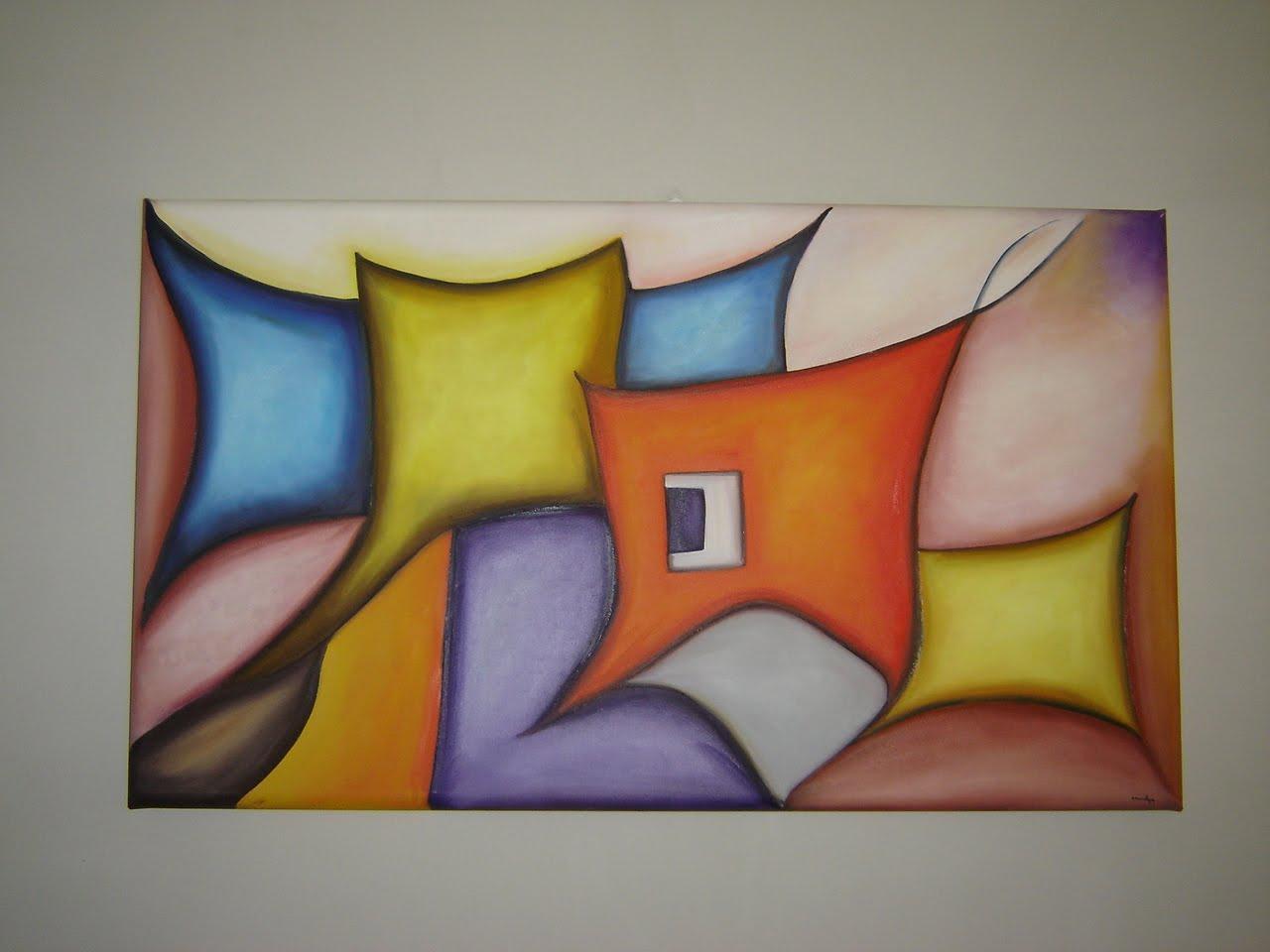 Quadros abstratos grandes