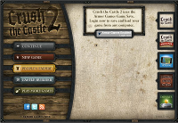 Crush the Castle 2ゲーム開始
