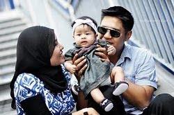 itu kami : aku, Saiful dan Raina Evaqairina