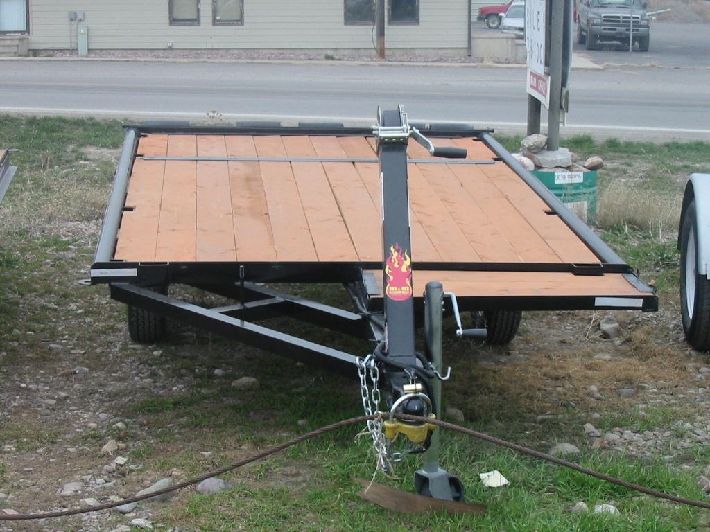 M Amp M Trailer Raft Atv Double Rollers