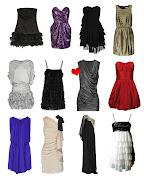 Estos son los vestidos que clasifico como buenos porque algunos son algo . vestidos