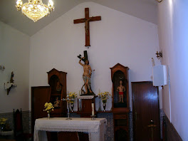Capela do Martir S. Sebastião(interior)