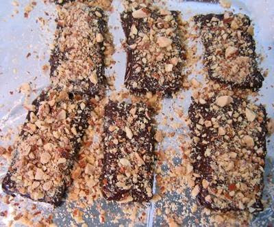 Sprinkle the Toffee With Nuts