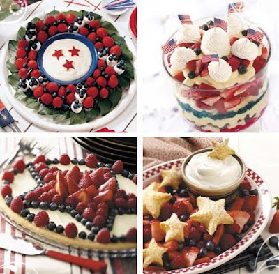 Patriotic Memorial Day Desserts Recipes ~ Molten Chocolate Lava Cake