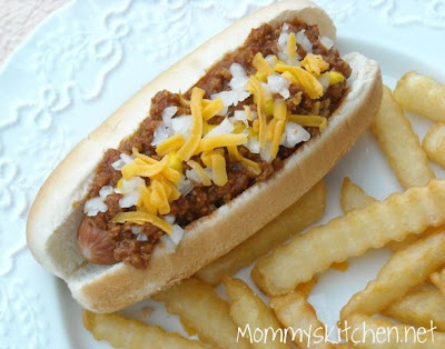 ... - Home Cooking & Family Friendly Recipes: Hot Dog Sauce (Coney Dogs