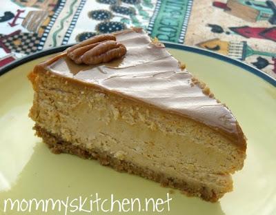 Dulce de Leche Pumpkin Cheesecake a Nice Change From Pumpkin Pie
