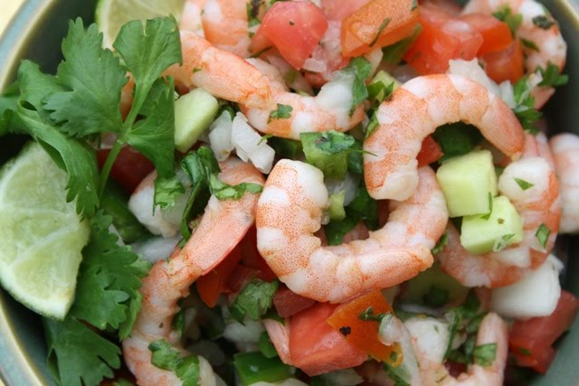 Mommy's Kitchen - Recipes From my Texas Kitchen!: Shrimp Ceviche