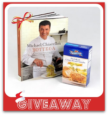 Lemon Pepper Panko & A Signed Copy Of Michael Chiarello's Cookbook {Giveaway}