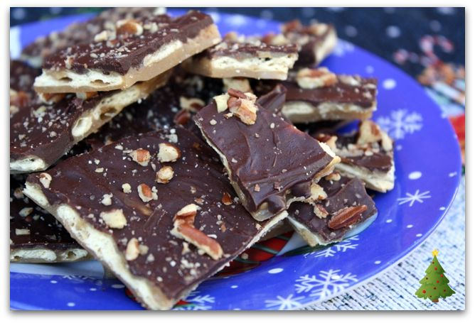 ... Recipes From my Texas Kitchen: Saltine Cracker Candy {Christmas Crack