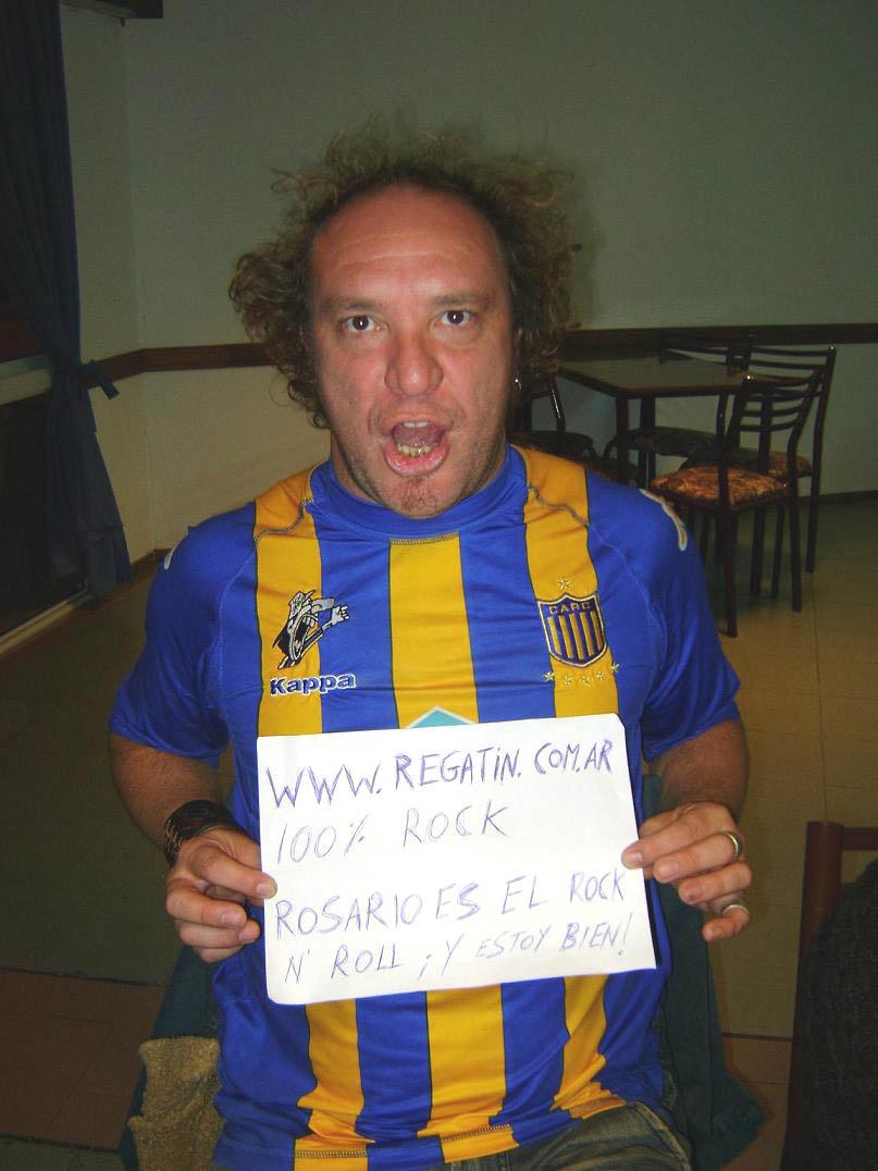 ROSARIO ES EL ROCK N` ROLL...¡Y ESTOY BIEN!