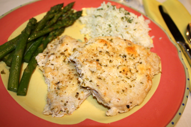 Busy Mom Recipes: Baked Parmesan Chicken