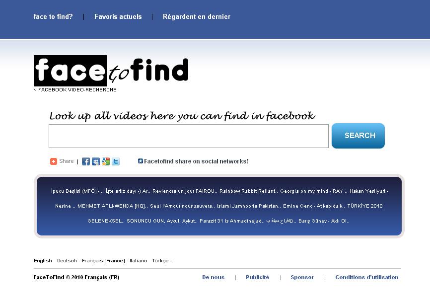 comment trouver les videos sur facebook