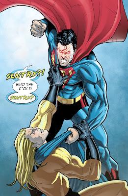 Ki győzne egy harcban? Superman_VS_Sentry_by_mikemaluk